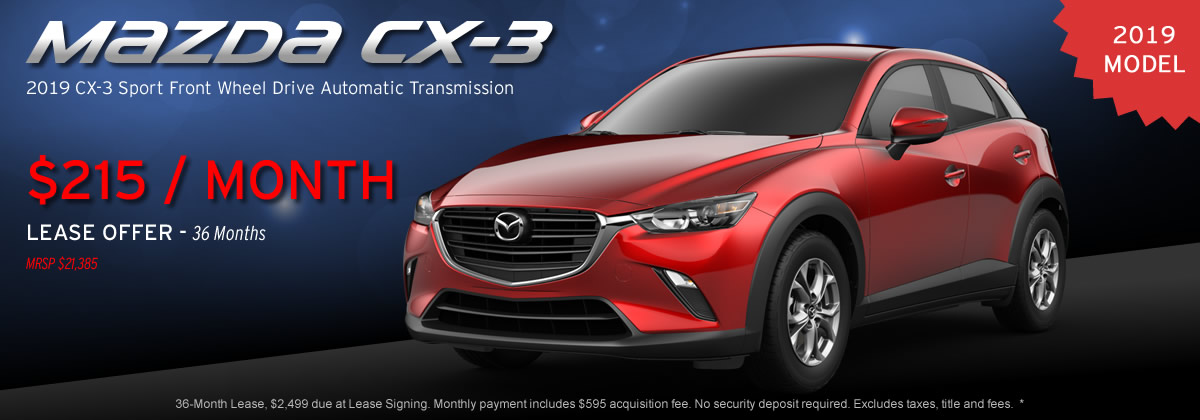 2019 Mazda CX-3 Sport Automatic Transmission
