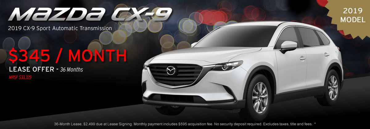 2019 Mazda CX-9 Sport Automatic Transmission