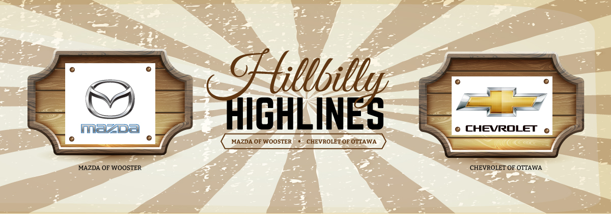 Hillbilly Highlines - Mazda of Wooster and Chevrolet of Ottawa
